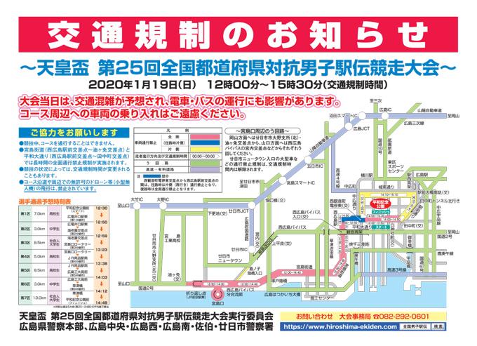 都 道府県 対抗 男子 駅伝 2020